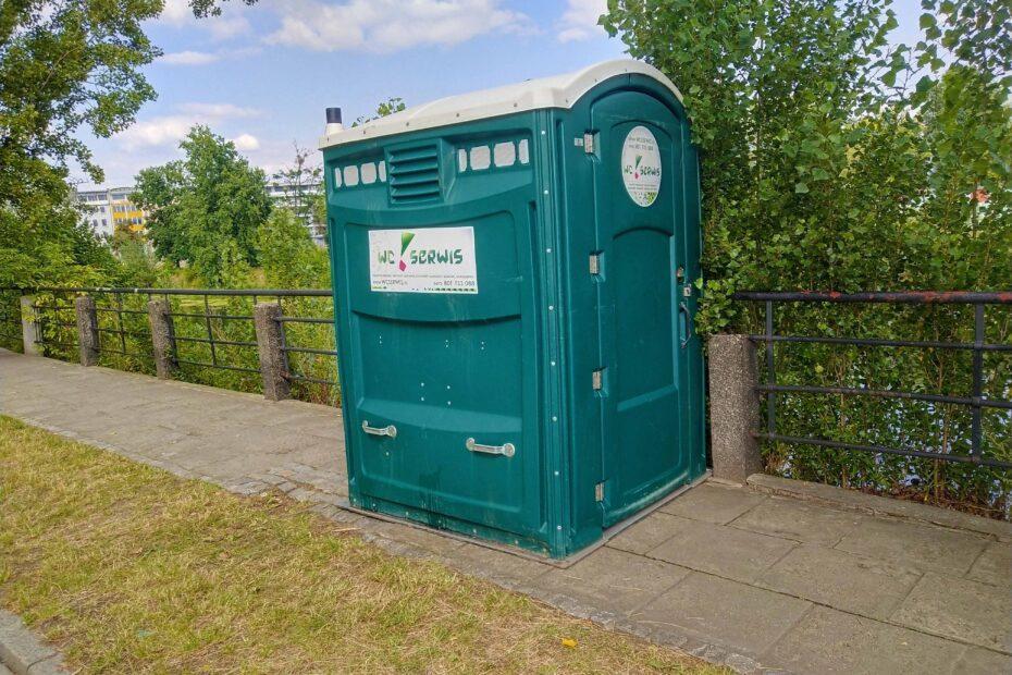 Toaleta przenośna dla niepełnosprawnych